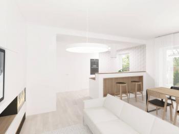 Pohled z klidové části - Prodej domu v osobním vlastnictví 145 m², Jeseník