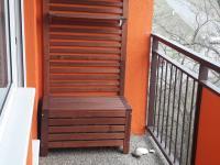 balkón po celkové rekonstrukci - Prodej bytu 3+1 v družstevním vlastnictví 65 m², Šumperk
