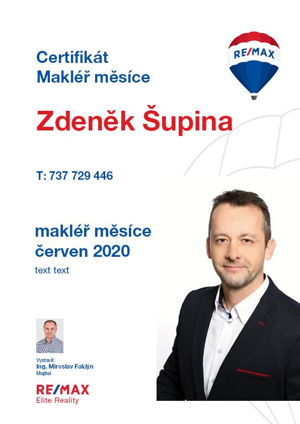 makléř měsíce ČERVEN 2020