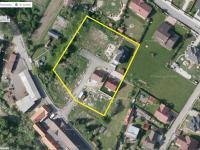 Satelitní snímek řešeného území - Prodej domu v osobním vlastnictví 125 m², Blatná