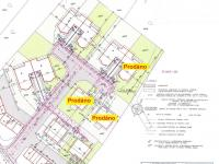 Situace - stav, prodáno - volné. - Prodej domu v osobním vlastnictví 125 m², Blatná