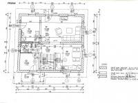 Půdorys přízemí samostatného rodinného domu - Prodej domu v osobním vlastnictví 125 m², Blatná