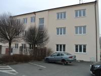 Pohled na budovu (Pronájem kancelářských prostor 22 m², Písek)