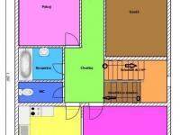 orientační půdorys (Prodej domu v osobním vlastnictví 339 m², Český Krumlov)