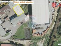 Pohled na dílny, sklad... (Prodej komerčního objektu 5422 m², Strakonice)