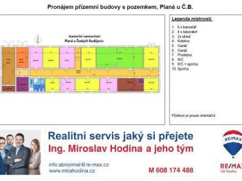Planá, ČB areál k pronájmu - Pronájem komerčního objektu 550 m², Planá
