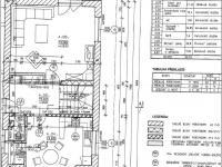 Půdorys přízemí 1/2 dvojdomu (Prodej domu v osobním vlastnictví 148 m², Blatná)
