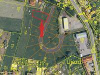 Prodej pozemku 744 m², Vodňany