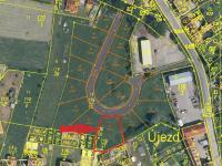 Prodej pozemku 989 m², Vodňany