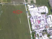 letecký snímek (Prodej pozemku 2679 m², Třeboň)