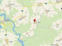RD Květov zdroj mapy.cz (Prodej domu v osobním vlastnictví 108 m², Květov)