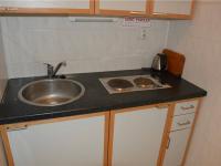 zázemí kuchyňský kout s WC pro personál (Pronájem komerčního objektu 66 m², České Budějovice)