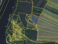 Umístění pozemku (Prodej pozemku 5729 m², Slabčice)