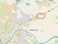 Poloha u silnoce, směr Praha, Písek (Pronájem jiných prostor 1422 m², Řepice)