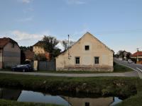 Pohled na chalupu z komunikace (Prodej chaty / chalupy 113 m², Kestřany)