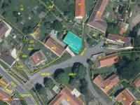 Katastrální snímek (Prodej domu v osobním vlastnictví 109 m², Třebohostice)