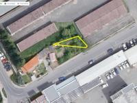 Satelitní snímek (Prodej pozemku 122 m², Písek)