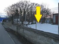 Pohled na pozemek a okolí (Prodej pozemku 122 m², Písek)