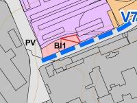 Územní plán (Prodej pozemku 122 m², Písek)