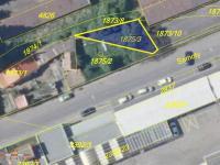 Snímek pozemku z katastrální mapy (Prodej pozemku 122 m², Písek)