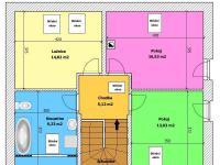 Půdorys 1.NP (Prodej domu v osobním vlastnictví 133 m², Srubec)