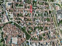 Nebytový prostor ul. B. Smetany - lokalita (Prodej obchodních prostor 32 m², České Budějovice)