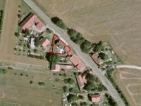 Pozemek katastr (Prodej domu v osobním vlastnictví 123 m², Sedlice)