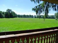 Pohled z balkonu v 1.NP (Prodej chaty / chalupy 33 m², Štěkeň)