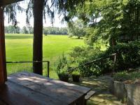 Sezení vedle chaty (Prodej chaty / chalupy 33 m², Štěkeň)