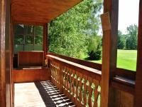 Balkon v 1.NP (Prodej chaty / chalupy 33 m², Štěkeň)