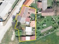 Satelitní snímek nemovitostí na prodej - Prodej restaurace 200 m², Hoštice