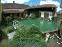 Zahrada u bytu, bazén a posezení - Prodej restaurace 200 m², Hoštice