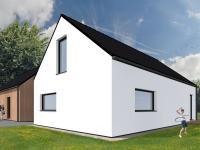 vizualizace (Prodej domu v osobním vlastnictví 125 m², Malovice)