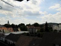 Pokoj - výhled na Píseckou věž (Pronájem domu v osobním vlastnictví 286 m², Písek)
