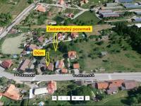 Umístění domu  - Prodej domu v osobním vlastnictví 180 m², Prachatice