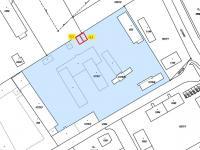 Umístění garáží v areálu (Pronájem garáže 35 m², Týn nad Vltavou)