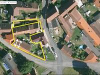 Satelitní snímek nabízených nemovitostí - Prodej domu v osobním vlastnictví 153 m², Chanovice