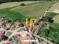 Poloha nemovitostí v obci - Prodej domu v osobním vlastnictví 153 m², Chanovice