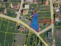 situace dle katastru (Prodej pozemku 1072 m², Rudolfov)