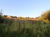pohled na pozemek (Prodej pozemku 1072 m², Rudolfov)