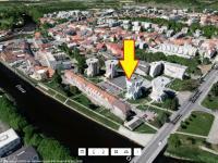 Umístění domu (Prodej bytu 2+1 v osobním vlastnictví 65 m², Strakonice)