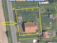 Snímek z KN (Prodej domu v osobním vlastnictví 172 m², Mrákov)