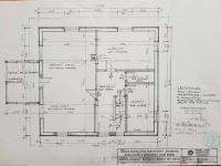 1NP - půdorys ze stavební dokumentace (Prodej domu v osobním vlastnictví 172 m², Mrákov)