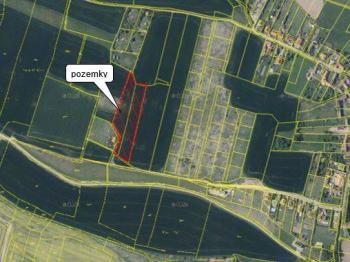 Prodej pozemku 34229 m², Kestřany