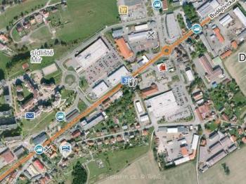 Pronájem obchodních prostor 740 m², Český Krumlov