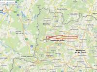 Mapa - Prodej domu v osobním vlastnictví 198 m², Brand - Nagelberg
