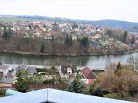 Pohled z terasy - Prodej bytu 4+kk v osobním vlastnictví 110 m², Tábor