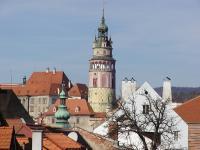 výhled z okna - Prodej hotelu 750 m², Český Krumlov