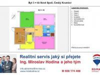 byt 3+kk Český Krumlov - Prodej bytu 3+kk v osobním vlastnictví 89 m², Český Krumlov