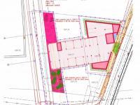 Situační plánek budovy - Prodej bytu 3+kk v osobním vlastnictví 93 m², České Budějovice